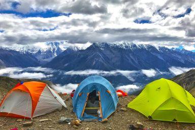 rodzinne wakacje pod namiotem